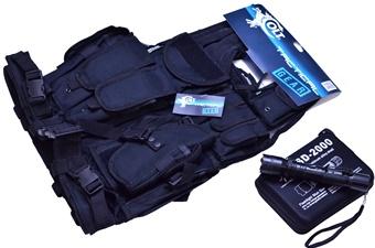 Tactical Vest Stun Gun Combo (2p