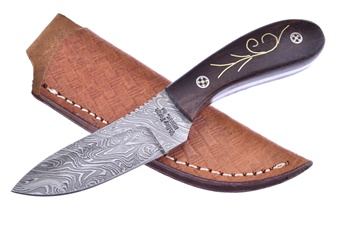 Valley Forge Inlay Damascus (1pc)