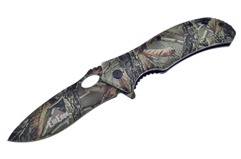 Elite Camo Brush Knife (1pc)