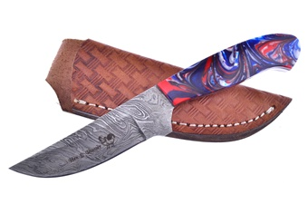 Michael Prater Star Spngld Damascus (1pc)