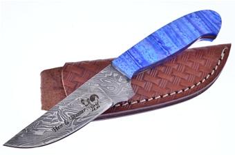 Michael Prater Blue Tide Damascus (1pc)