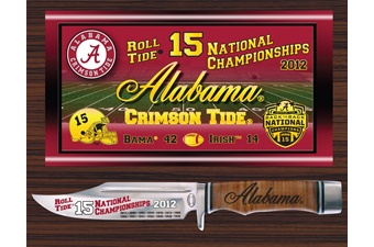Closeout Alabama National Champs 2012 (1pc)