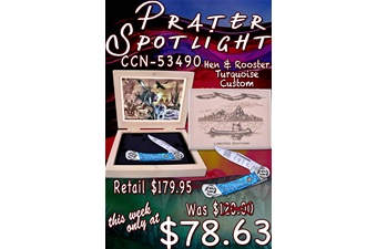 Closeout Prater Spotlight (1pc)