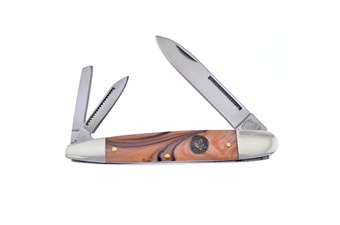 Prototype Crowing Rooster California Gold Whittler (1pc)