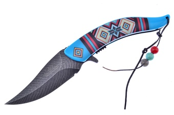 Prototype Blue Aztec Feather Assist(1