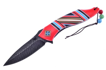 Prototype Red Aztec Feather Assist(1