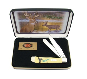 Case Whitetail Deer Yellow (1pc)