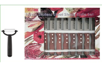 Chef Deluxe Steak Knives (10pc)