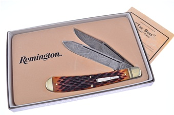 Remington Damascus Boss Trapper (1pc