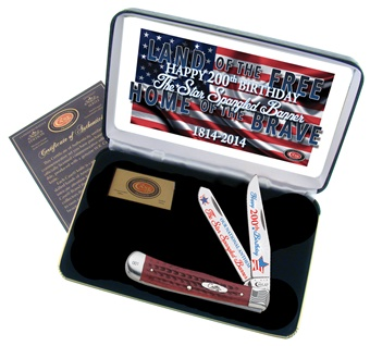 Case Star Spangled Banner Anniversary Trapper Set