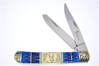 "4.5"" Dark Blue Pickbone Trapper"