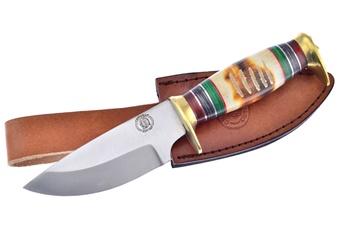 """9.5"""" Torchbone Skinner w/Leather Sheath"""