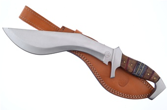 """15""""Overall Darkwood Full Tang Leather Sheath"""