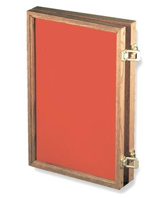 Hardwood Display Plexiglass