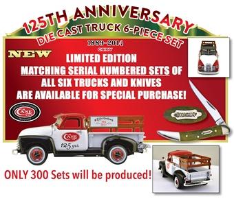 Case Ertl 125th 6-Matching # Set