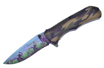 "4.5"" Vietnam War Camo Aluminum Tactical"