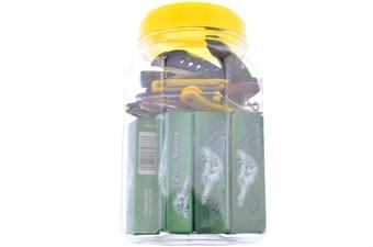 24pc Assorted Folders In Jar