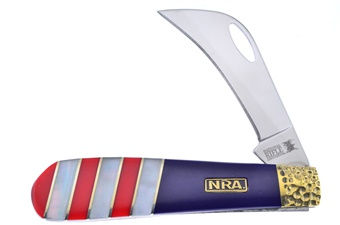 "4"" Nra Mother Of Pearl/Acrylic Hawkbill"