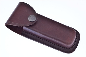 "Leather Sheath 5"" Western Style"