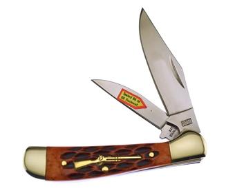 "3.25"" Brown Jig Bone Locking Copperhead"