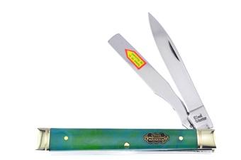 """3.75""""Blue Green Swirl Resin Doctor's Knife"""