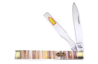 "3.75"" Pearl Tusk Doctor's Knife w/Spatula"