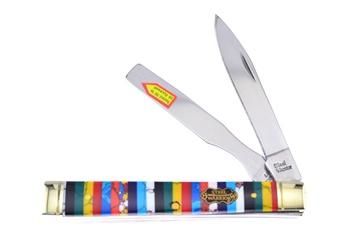 "3.75""Multi Turquoise Dr Knife w/Spatula"