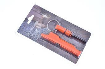 """4"""" Orange Fire Starter Whistle"""