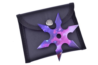"3"" Galaxy Six Point Star"