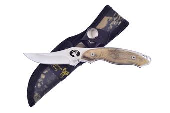 """7"""" Ram's Horn Skinner w/440 Stainless Steel Blade"""
