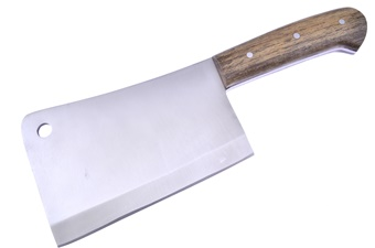 "11.25"" Walnut Wood Cleaver"