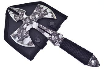 "12"" Black Fabric-Wrap Axe w/Sheath"