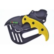 CCN-02041 - Closeout Yellow Zombie Karambit (1pc)