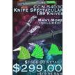 CCN-54030 - Knife Spectacular   (189pcs)