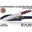 CCN-57699 - Chipaway Clearance (1pc)