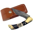CCN-58471 - Trophy Stag Damascus Folding Hunter (1pc