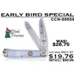 CCN-59559 - Early Bird Special (1pc)