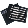 CCN-82807 - Closeout Flaw Hen + Rooster Stainless Steel Steak Set (1pc)
