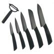 HRI-016 - 6pc. Black Ceramic Kitchen Set