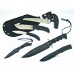 CCN-33577 HUNTER'S COMPANIONS (4PCS) [Frost Cutlery • Fixed Blades & Hunters • Hunting Knives]