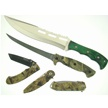 CCN-37000 FIELD TESTED FIVE  (5PCS) [Assorted • Fixed Blades & Hunters]