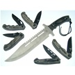 CCN-40713 SILVERWOOD SPIKE (6PCS) [Assorted • Fixed Blades & Hunters]