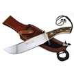 CCN-41476 H&R DEER STAG BOWIE  (1PC) [Hen & Rooster • Fixed Blades & Hunters • Bowies]