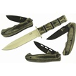 CCN-41930 SMOKY 4 PACK (4PCS) [Assorted • Fixed Blades & Hunters]
