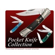 CCN-45937 ROOSTER MOLASSES (4PCS) [Crowing Rooster • Pocket Knives]