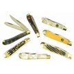 CCN-46007 BRANDED TRAPPERS (7PCS) [Assorted • Pocket Knives]