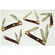 CCN-46640 RED BONE SPECIAL (5PCS) [Frost Cutlery • Pocket Knives]