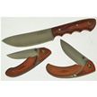 CCN-46690 DEER VALLEY SERIES (3PCS) [Assorted • Fixed Blades & Hunters]