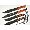CCN-46833 HAPPY HALLOWEEN (4PCS) [Tac Xtreme • Fixed Blades & Hunters]