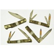 CCN-47124 40TH ANNV RAM & PEARL  (4PCS) [Frost Family • Pocket Knives]